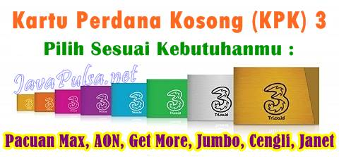 Jasa Inject Tembak KPK Tri Terlengkap Server Java Pulsa Online Termurah Jember Surabaya Jawa Timur