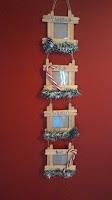 porta retratos para el arbolito de navidad con baja lenguas