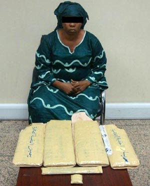 woman arrested in lagos