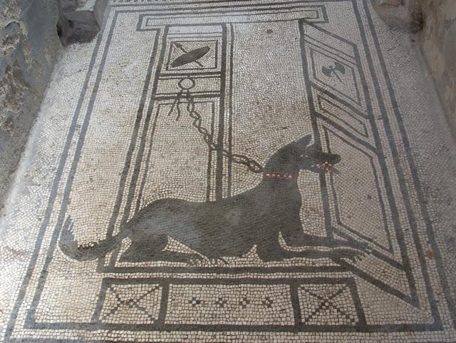 mozaiki Pompeje, zwiedzanie