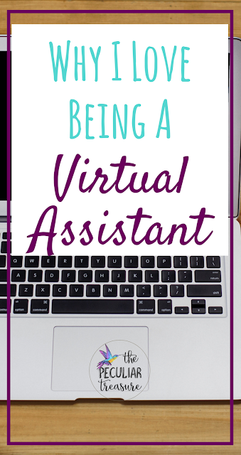 I love being a virtual assistant! It can be hard work but there are some prime benefits to being in this field. Read the full post to find out what they are!