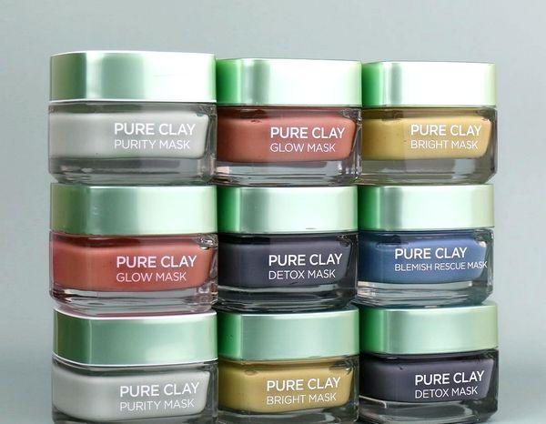 Blog beauté : Masques Argile Pure, soins visage L'Oréal Paris (Instagram)