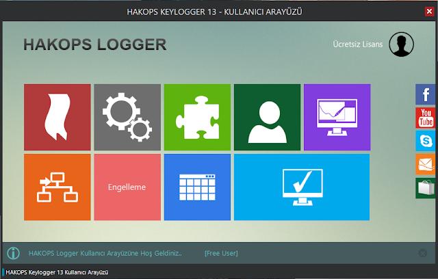 HAKOPS Keylogger 13.1
