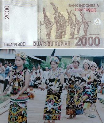 Penampakan Asli Dari Uang Rupiah Indonesia Dua Ribu Rupiah