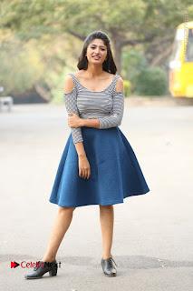 Telugu Actress Roshini Prakash Stills Short Dress at Saptagiri Express Release Press Meet  0266.JPG