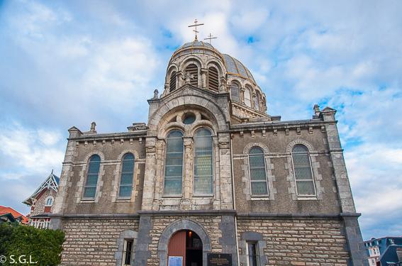 Iglesia ortodoxa de Biarritz Francia