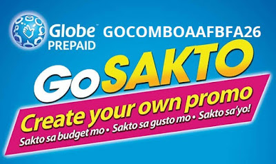 GOCOMBOAAFBFA26 : Globe Cheapest 1 Day Unlimited Internet