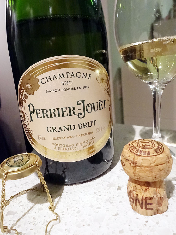 Perrier-Jouët Grand Brut Champagne (91 pts)
