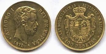 moneda Amadeo I