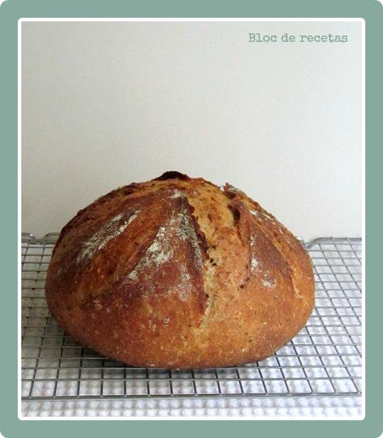 Bloc de recetas pan de espelta con semillas amasado en - El amasadero ...