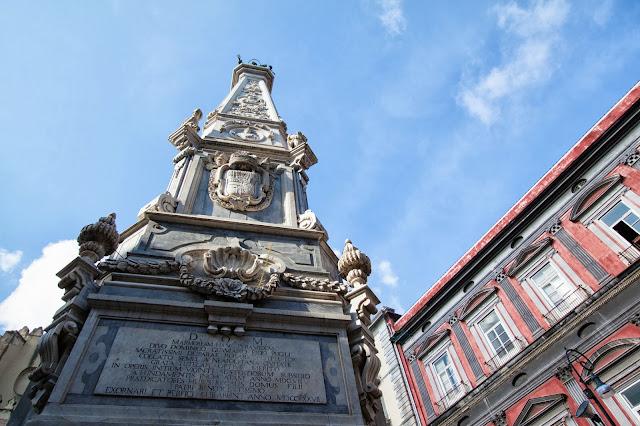 Obelisco-Piazza del Gesù nuovo-Napoli