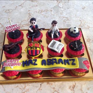 Cupcake Ultah Malang