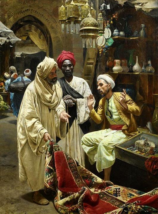 بائع مصري