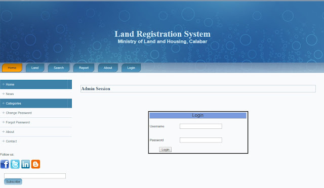 Land Information System Source Code ASP .NET C# Source Code