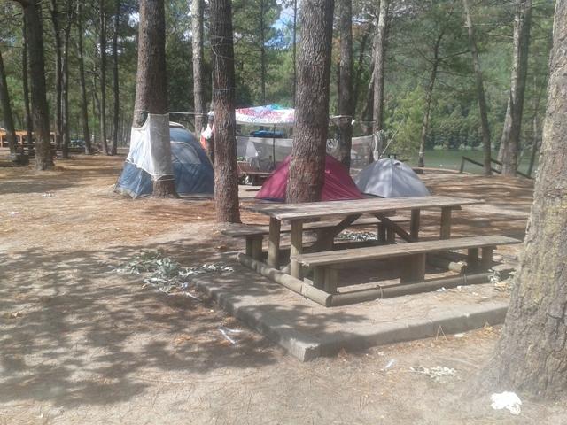 Parque de Merendas com campismo