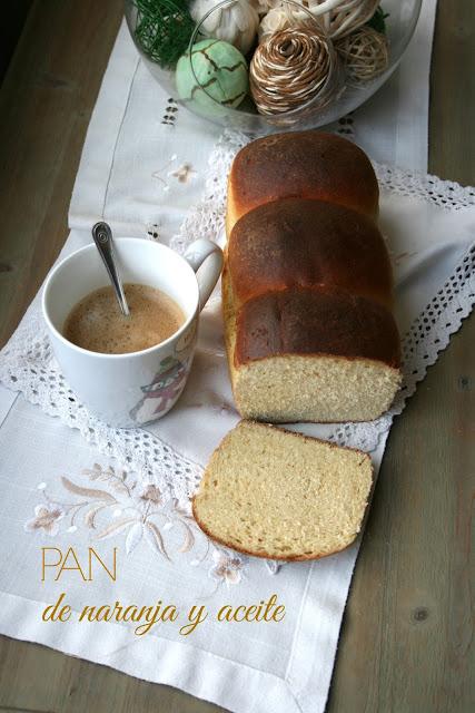 Pan de naranja y aceite