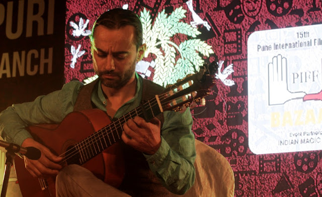PIFF, The Flamenco guitar maestro Carlos Blanco