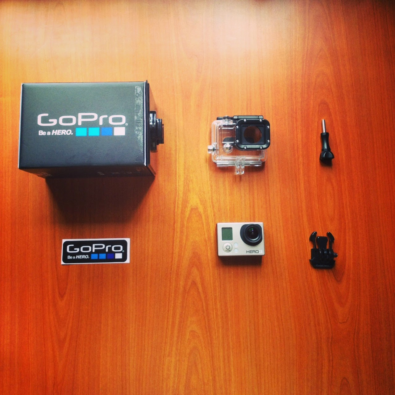 JUST BOUGHT A GOPRO HERO 3 !!!