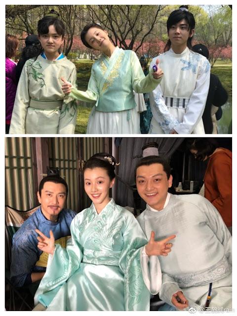The Story of Ming Lan Wang He Run, Zhang Xiao Qian