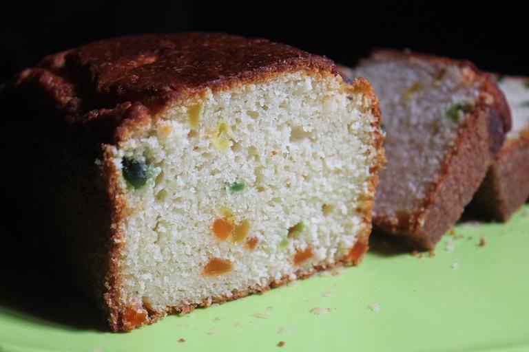 Yogurt Cake Recipe In Pressure Cooker: Simple Tutti Fruity Loaf Cake