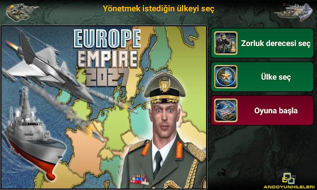 Avrupa İmparatorluğu 2027 v1.2.0 Para Hileli