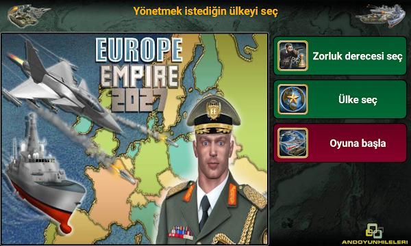 Avrupa İmparatorluğu 2027 v1.2.0 Para Hileli APK