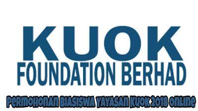 Permohonan Biasiswa Yayasan Kuok 2018 Online