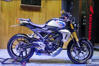 Pilihan Warna Honda CB150R Exmotion