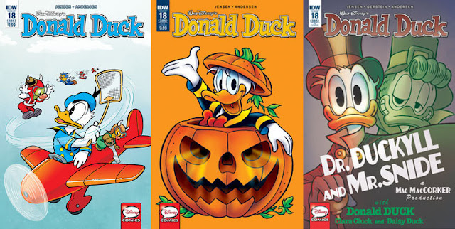 IDW's Donald Duck #18 - all cover variants
