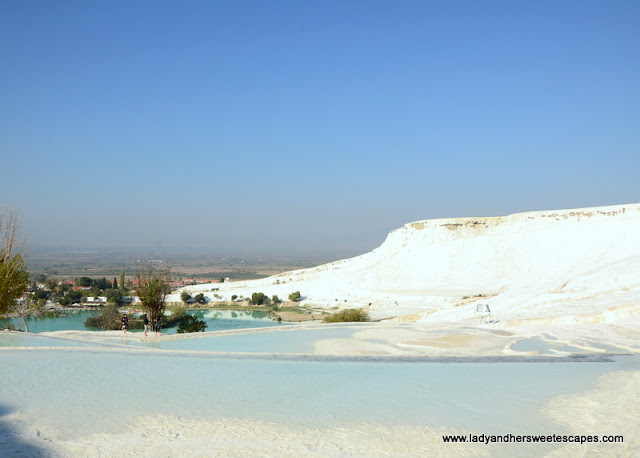 the calcite-laden waters of Pamukkale