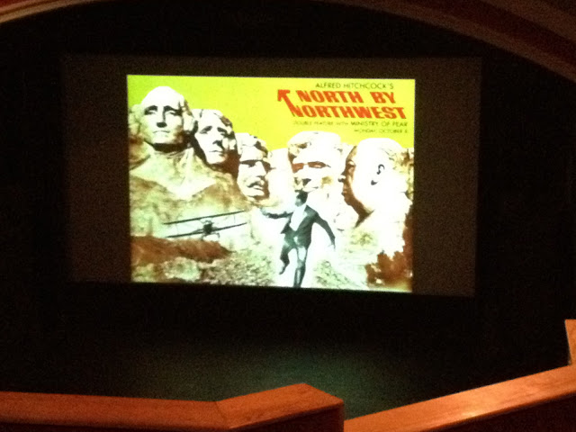 North by Northwest 1959 showing on the big screen at The Brattle Theatre.