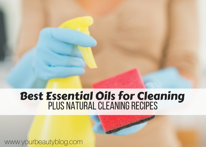 If you're making natural cleaning products, these are the best essential oils to use.  DIY cleaning products can save you a lot of money.  These essential oils cleaning will help you get your home clean with natural cleaning tips.  It also has natural cleaning recipes for you to make at home.  Includes a DIY all purpose cleaner recipe.  #diy #cleaner #natural #naturalcleaning #ecofriendly #essentialoils