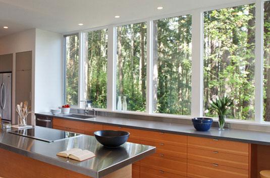 Contoh Model desain jendela Alumunium minimalis