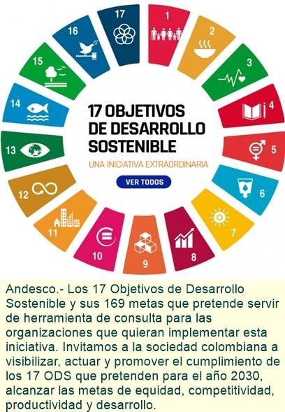 Los 17 Objetivos de Desarrollo Sostenible y sus 169 metas