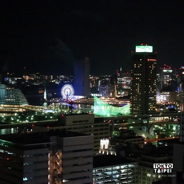 【神戶市役所展望廳】從24樓高 遠看神戶港和山上發光的船錨