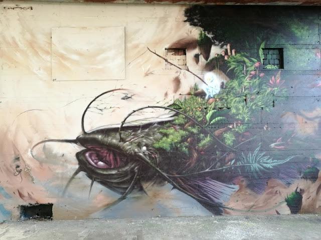 Street Art auf dem Teufelsberg