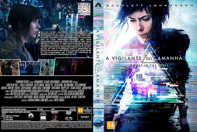 Capa DVD A Vigilante do Amanhã [Exclusiva]