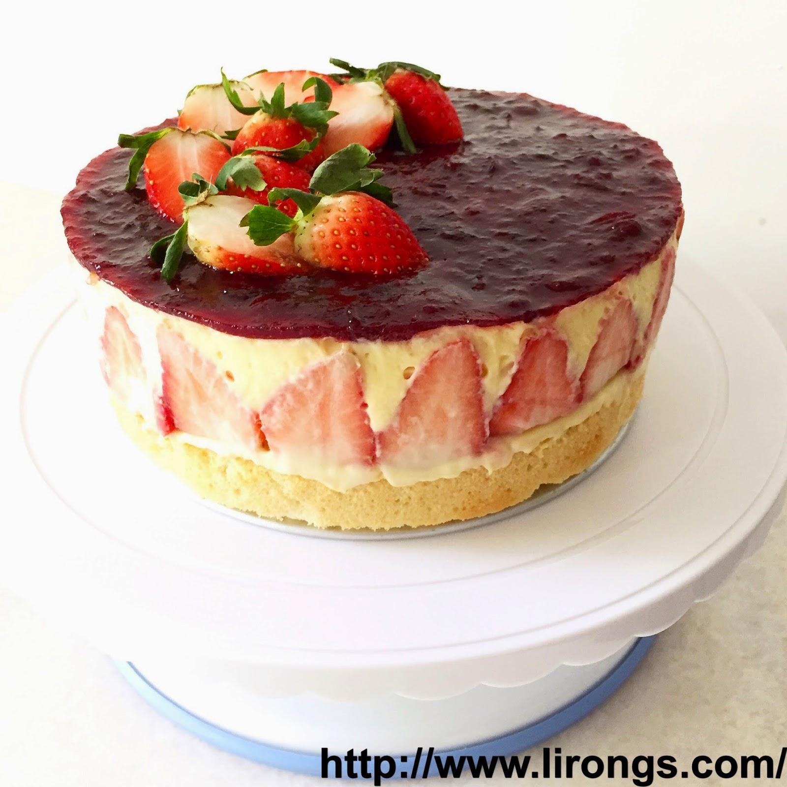 Strawberry Sponge Cake Recipe Singapore
