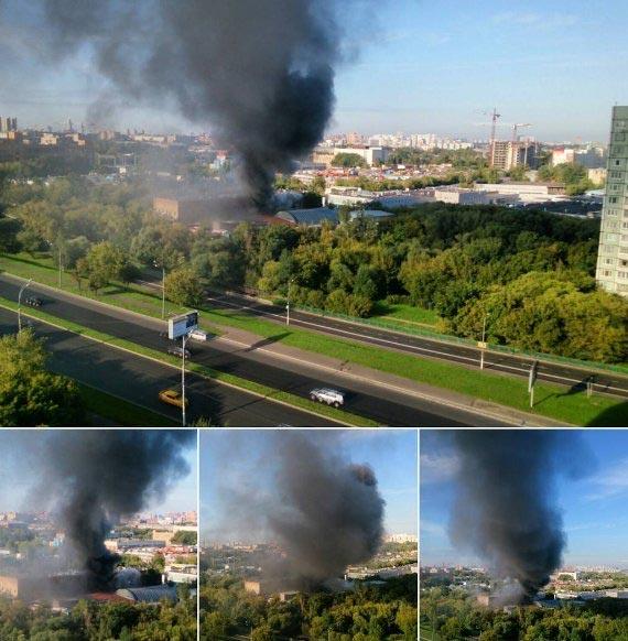 16 dead as factory is razed by fire in Russian capital, Moscow