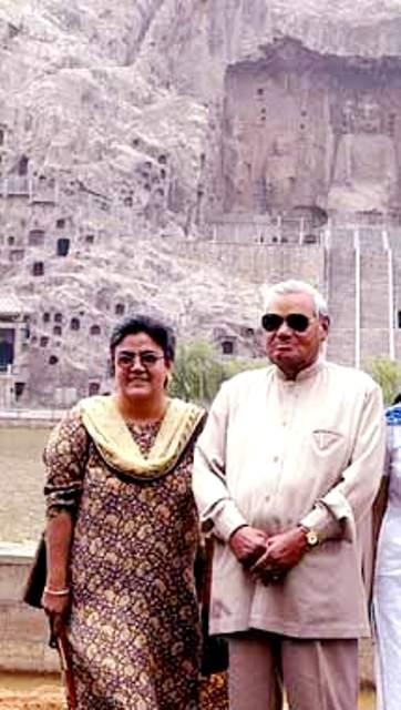 Atal foster daughter Namita Bhattacharya