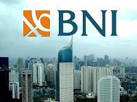 PT Bank Negara Indonesia (Persero) Tbk - Operational Back Office BNI (SMU,D3, S1)   August 2017