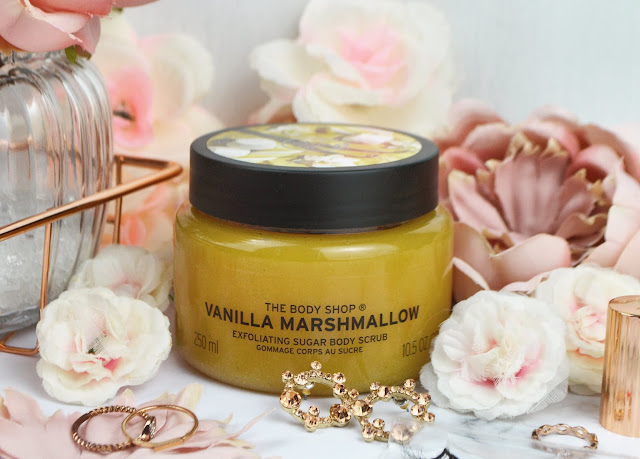 Lovelaughslipstick Blog The Body Shop Vanilla Marshmallow Suagr Scrub