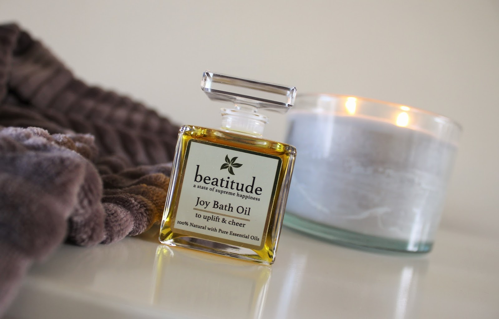 Review of Joy Bath Oil by Beatitude Products - 4