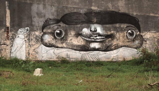 Мрачные рисунки на стенах. Ethos 51