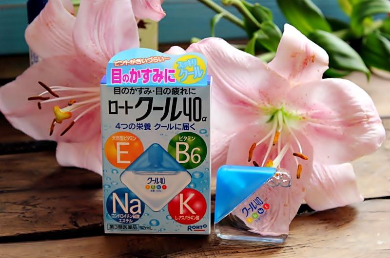 Некосметические заметки: Японские капли для глаз Rohto Cool 40 Альфа от усталости и покраснений / обзор, отзывы