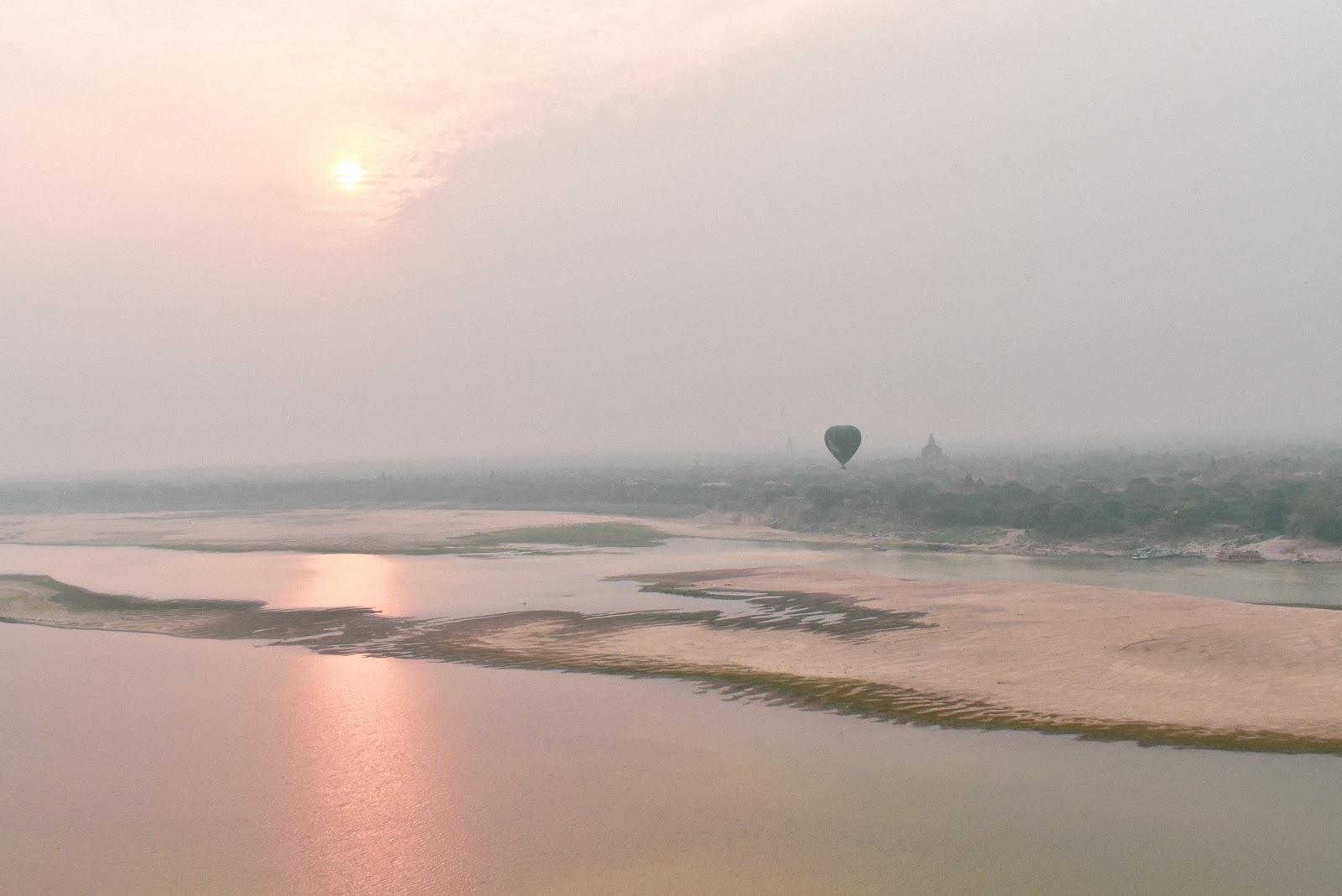 passeio de balão bagan mynamar