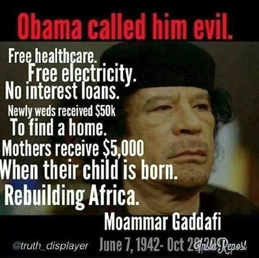 Gaddafi Quotes. QuotesGram