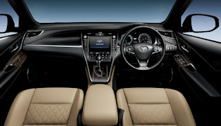 Interior Toyota Harrier