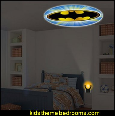 Bat Signal DC Comics Collectors Edition Batman LED Night Light batman bedrooms - batman bedroom decorating ideas -  batman furniture - batman murals - batman wall decals - batman bedding - batmobile bed - Batman room decor - batman pajamas -  batcave DC Comics Batman -  batman comics themed bedrooms -  Batman vs Superman Bedrooms - Superhero bedroom ideas -