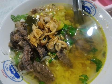 Kuliner Malam Soto 27 Seberang TamanSari Shopping Centre Salatiga